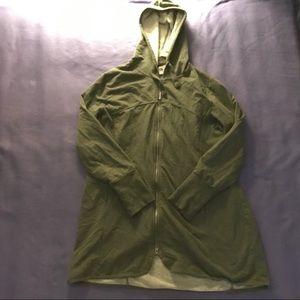 Maternity zip up hoodie